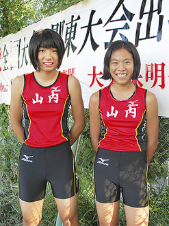 活躍を見せた大久保明奈さん(右)と泉田怜恵さん
