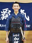 「剣道をずっと続けていきたい」と加藤勇吾君