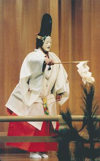 舞囃子「巻絹」(装束附)