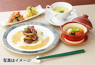 新鮮な魚や肉、有機野菜、契約農家が作る美味しいお米などを贅沢に使った料理を楽しめる