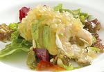 芝海老とアボカドのサラダ仕立て