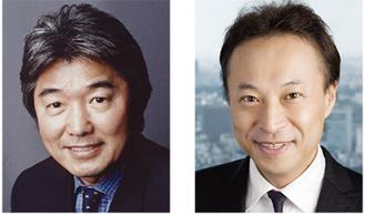 対談に参加する北原さん(左)と西川さん