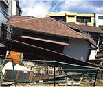阪神大震災では、比較的新しい家も1階が倒壊