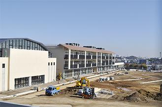 校舎が完成した「慶応義塾横浜初等部」