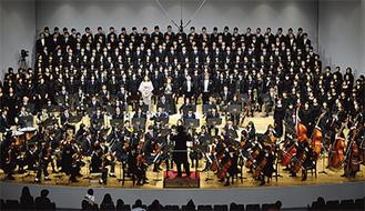 """25周年の節目を迎えた""""桐蔭第九の会""""。演奏のレベルが年々向上しているという"""