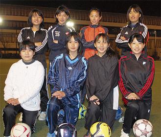 横浜青葉女子ジュニアユースのメンバー