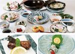 「ふぐ懐石料理」は竹5,250円・桜7,880円・梅10,500円・松12,600円の4コース