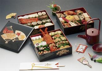 「お節料理」3〜4人前45,000円・5〜6人前55,000円(写真は5〜6人前)