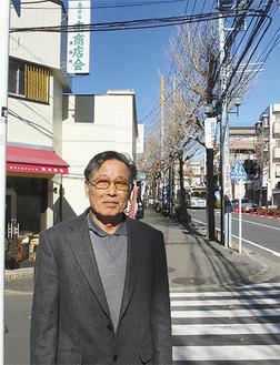 「この街のために精一杯できることをしていきたい」と鴨志田さん