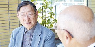 ゲストの飯塚さん(左)