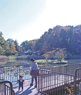 親子連れや子どもで賑わう「もえぎ野公園」