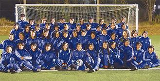 明るさと一体感が強みの日体大女子サッカー部=1月29日、健志台キャンパス