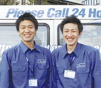 齋藤さん(左)と山口さん