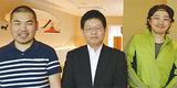 左から井上さん、倉岡さん、中山さん
