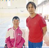 成田選手と堀越コーチ