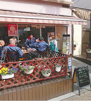 空き店舗活用の「さくら茶屋」