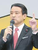 政策を語る江田氏=江田事務所提供