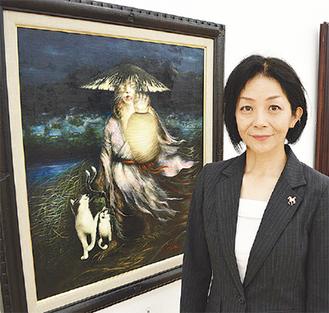 受賞作品「獺」と田中さん
