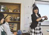 講師に立つ安田さん