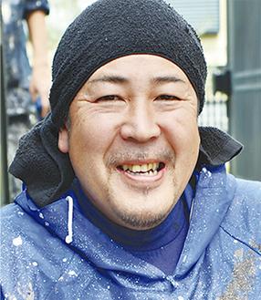 「下見から施工まで、私が伺います」と野崎代表