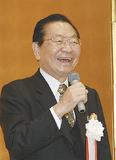 新年のあいさつをする松澤会長
