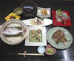 鯛コース(7,000円税別・要予約)