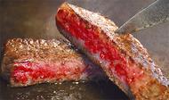 最高級ステーキでお祝い