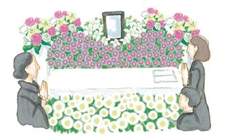 「花いっぱいのお葬式に」