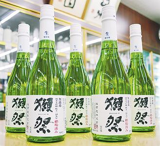 720mlで2700円。しぼりたての無濾過生原酒