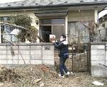 被災後の自宅の様子=2011年4月撮影
