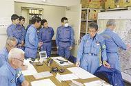 消防団が災害対応訓練