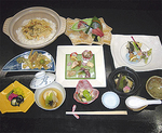新筍山菜コース(6,000円税別・要予約)