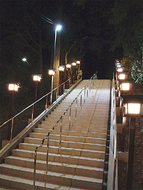 劔(つるぎ)神社の参道竣工