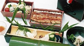 うなぎ弁当(4200円税別)