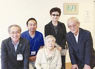 110歳 豊島さんをお祝い