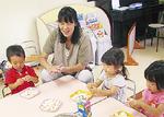 母子分離を行う未就園児クラス