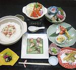蟹コース(8,200円+税)