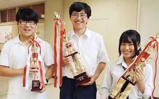 右から井上さん、安川さん、渡邉さん