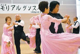 シークエンス・ダンスを踊る「モナミ・あざみ野」
