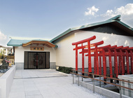 神鳥前川神社に参集殿竣功
