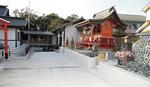 参集殿工事に合わせて伏見稲荷神社、八坂神社、仙元社周辺の参道も整備