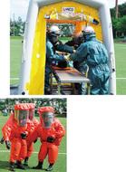 毒物テロの対策訓練
