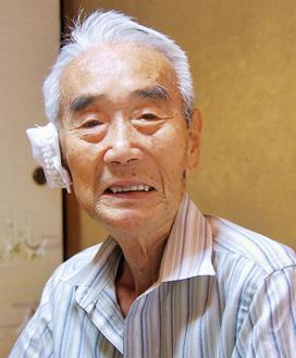 当時を振り返る吉村さん