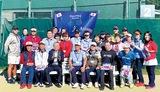テニスで日韓親睦図る
