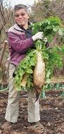 農家のおじさんと自然学習
