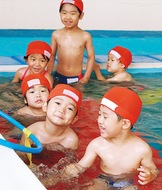 夏の体験型水泳教室