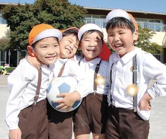 感染症対策など安全管理を行いながら、子どもの遊びを大切にしている