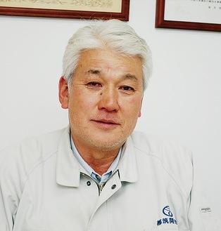 建設業のやりがいを語る土志田さん