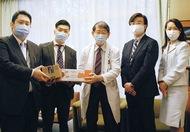横浜総合病院に寄付
