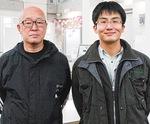 小出所長(右)と石井田委員長